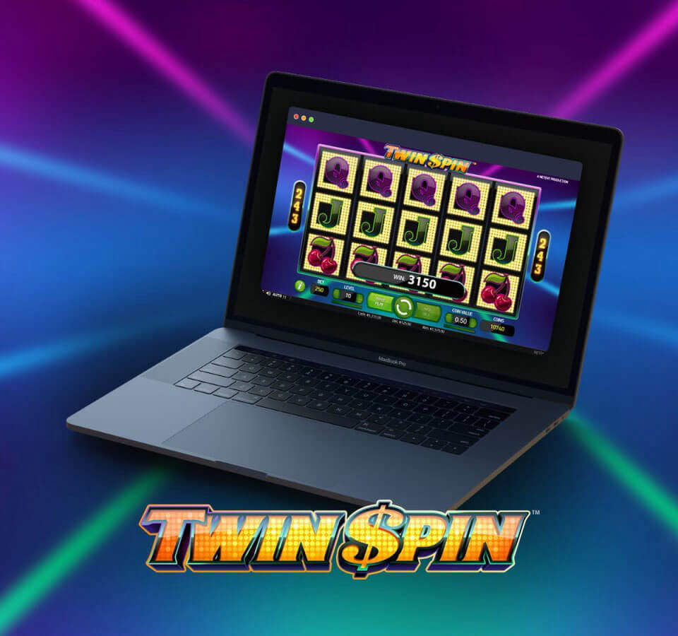 twin spin slot computer or mobile casino slot game online