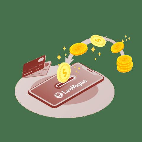 leovegas casino deposit and withdrawal methods