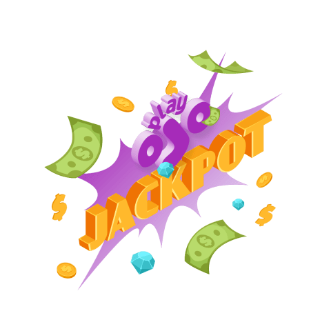 playojo bonus jackpot image with coins and bills