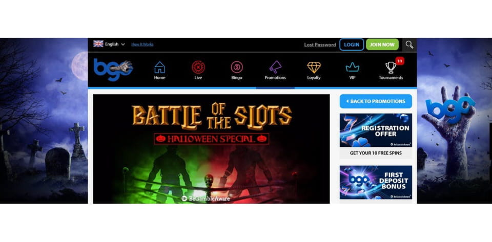 BGO: Battle of the Slots